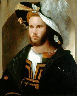 Portrait of a Man | Girolamo Romanino | Oil Painting