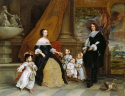 The Family of Jan Baptista Anthoine | Gonzales Coques | Oil Painting