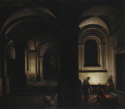 The Liberation of Saint Peter | Hendrick van Steenwijck the Younger | Oil Painting