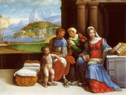 The Holy Family | Il Garofalo | Oil Painting