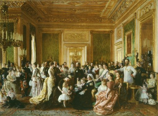 The Family of Queen Victoria in 1887 | Laurits Tuxen | Oil Painting