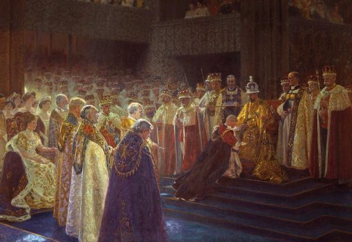 The Coronation of King George V; Edward