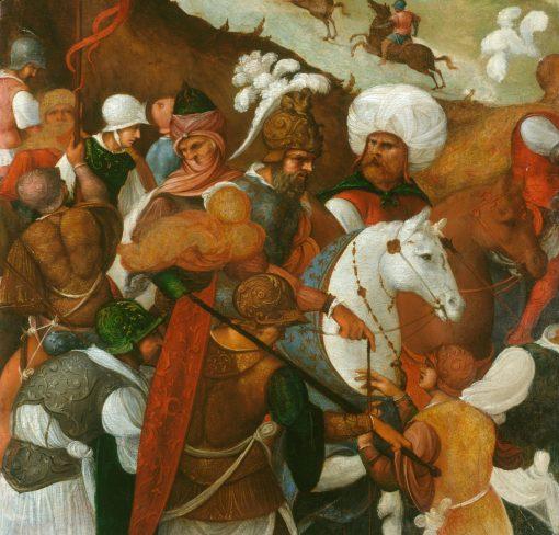 Warriors (fragment) | Ludovico Mazzolino | Oil Painting