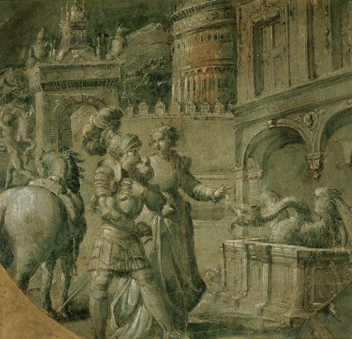 A Scene from 'Orlando innamorato' | Niccolò dell' Abbate | Oil Painting