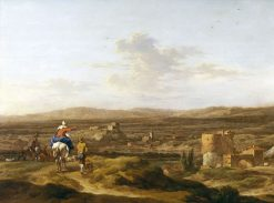 Italian Landscape with Mountain Plateau | Nicolaes Berchem | Oil Painting