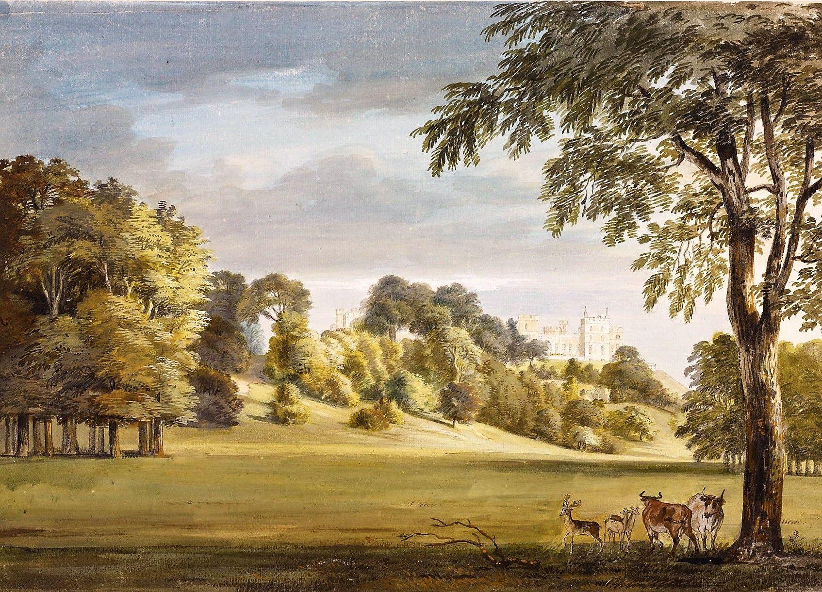 Windsor Castle   Paul Sandby