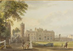 The Royal Military Academy at Woolwich | Paul Sandby