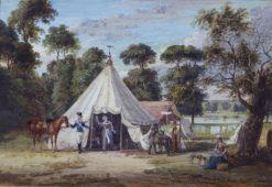 The Encampment in Hyde Park | Paul Sandby