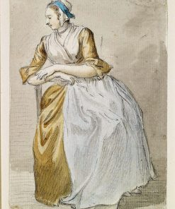 A Seated Maidservant | Paul Sandby