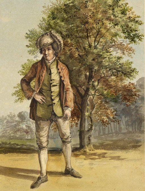 A running footman to William
