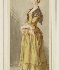 A Standing Young Girl   Paul Sandby
