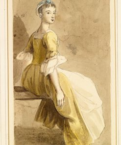 A Seated Girl | Paul Sandby