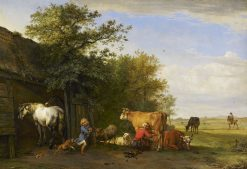 The Young Thief | Paulus Potter | Oil Painting