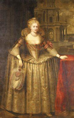 Anne of Denmark (1574-1619) | Paulus van Somer I | Oil Painting