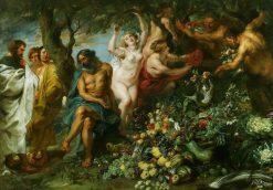 Pythagoras Advocating Vegetarianism | Peter Paul Rubens | Oil Painting