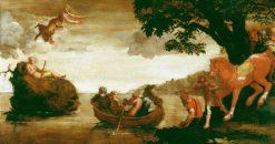 Psyche Abandoned | Polidoro da Caravaggio | Oil Painting