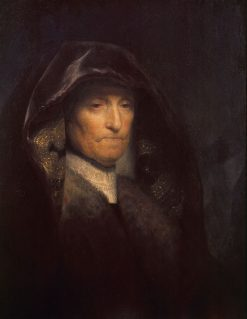 Bust of an Old Woman(also known as Rembrandt's Mother) | Rembrandt van Rijn | Oil Painting