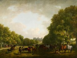 The Duke of Cumberland Visiting his Stud | Sawrey Gilpin | Oil Painting