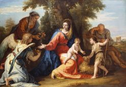 The Holy Family with Saint Elizabeth