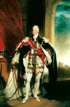 William IV (1765-1837)   Sir Martin Archer Shee   Oil Painting