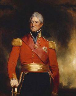 Sir Thomas Picton (1758-1815) | Sir Martin Archer Shee | Oil Painting