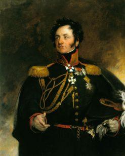 General Theodore Petrovitch Uvarov (1733-1824)   Thomas Lawrence   Oil Painting