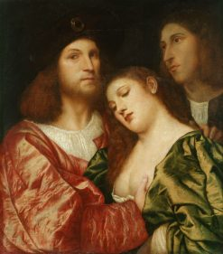 The Lovers | Titian | Oil Painting