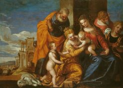 The Mystic Marriage of Saint Catherine of Alexandria | Veronese | Oil Painting
