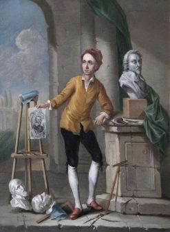 Peter Scheemakers (Sculptor) | Francis Hayman | Oil Painting
