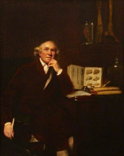 John Hunter (1728-1793) | Sir Joshua Reynolds | Oil Painting
