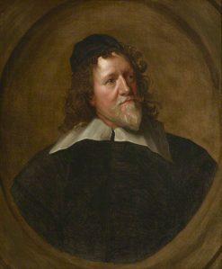 Inigo Jones (1573-1652) (after Anthony van Dyck)   British School th Century   Unknown   Oil Painting