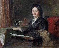 Lady Louisa Tennyson | John Phillip | Oil Painting