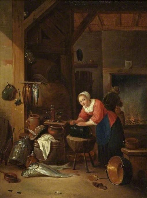 Interior with Women