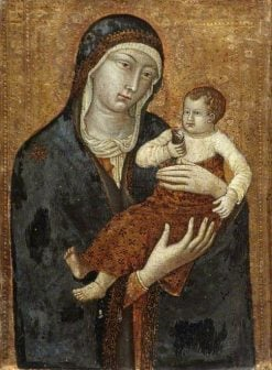Madonna and Child with a Goldfinch | Italian School th Century   Unknown | Oil Painting