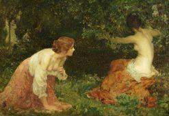 The Bathers Alarmed | Solomon Joseph Solomon | Oil Painting