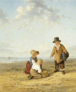 Figures on the Seashore | William Collins | Oil Painting