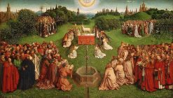 Ghent Altarpiece (detail of centre panel) | Jan van Eyck | Oil Painting