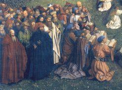 Ghent Altarpiece: Detail Jews and Heathens | Jan van Eyck | Oil Painting