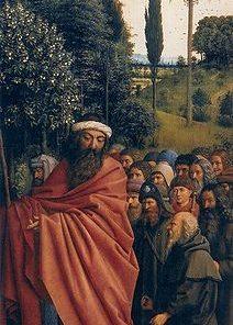 Ghent Altarpiece: Right panel (detail)   Jan van Eyck   Oil Painting