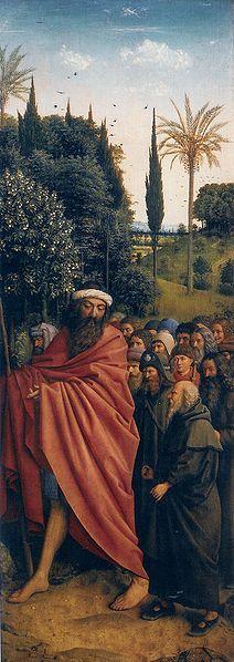 Ghent Altarpiece: Right panel (detail) | Jan van Eyck | Oil Painting