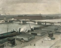 The Quays at Rouen | Albert Marquet | Oil Painting
