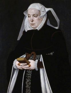 Portrait of a Woman | Bartholomaeus Bruyn the Younger | Oil Painting