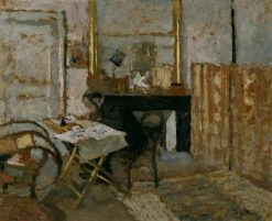 Ker-Xavier Roussel Reading | Edouard Vuillard | Oil Painting