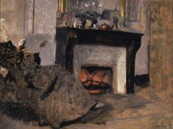 The Fireplace | Edouard Vuillard | Oil Painting