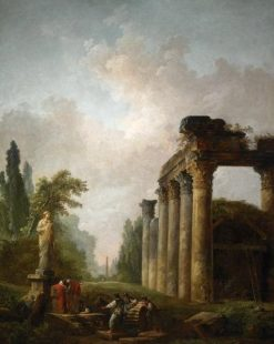 The Ruin | Hubert Robert | Oil Painting