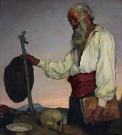 The Hermit | Ignacio Zuloaga y Zabaleta | Oil Painting