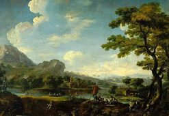 Landscape | Italian School th Century   Unknown | Oil Painting