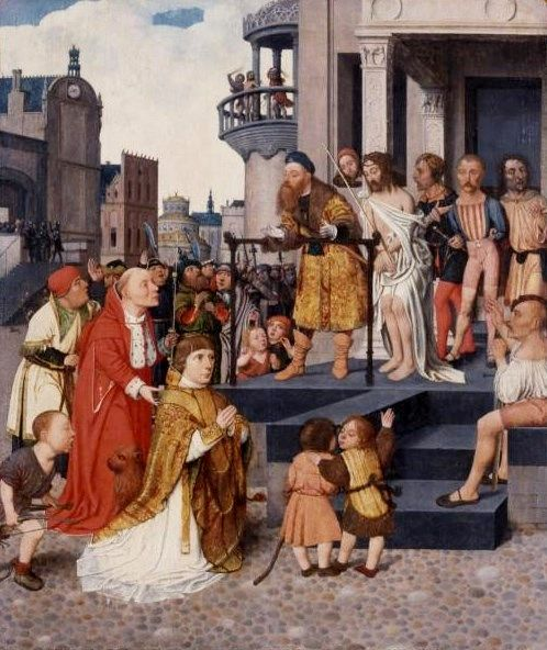 Christ Shown to the People | Jan Mostaert | Oil Painting