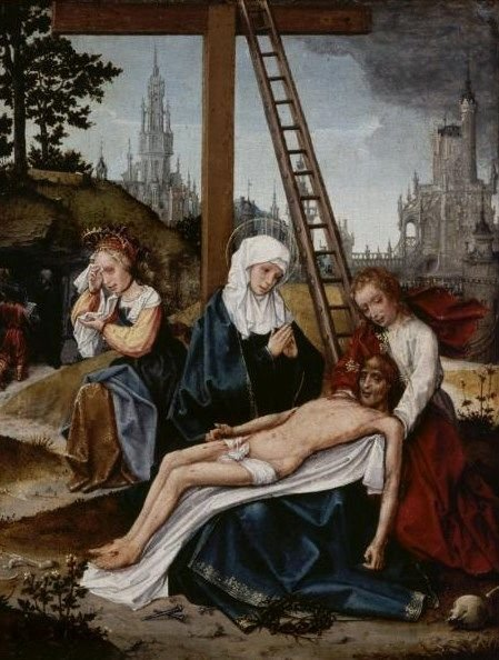 Lamentation | Jan Provoost | Oil Painting