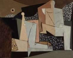Figures on a Beach | Louis Marcoussis | Oil Painting